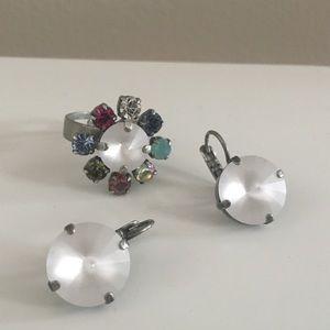 Sabika Ring & Earrings - Authentic